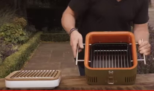 pretty nice offer discounts top fashion The CUBE Charcoal BBQ by Heston Blumenthal - Stone