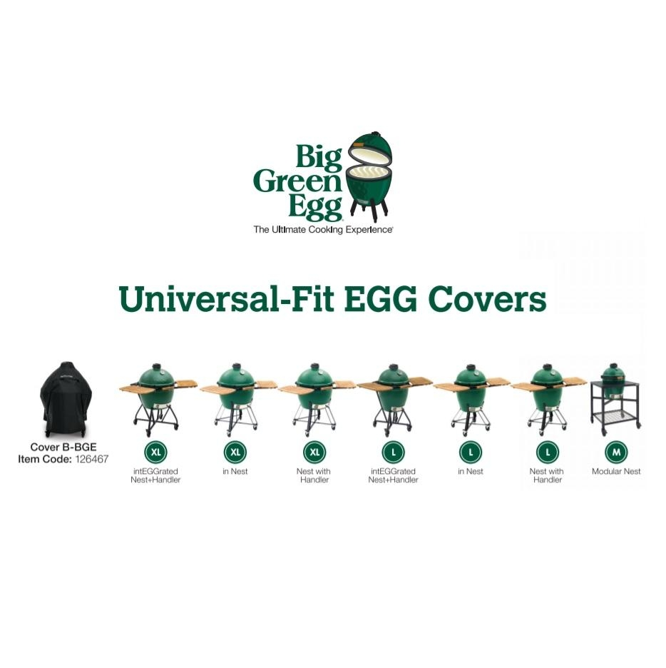 Universal-Fit EGG Cover B - A great range of from BBQAroma your Charcoal  BBQ Specialist